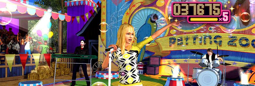 Jeux de Hannah Montana